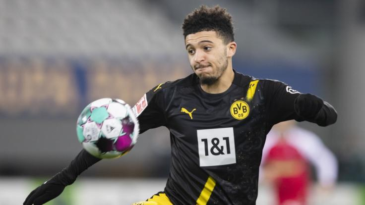 Jadon Sancho wird den BVB wohl bald verlassen. (Foto)