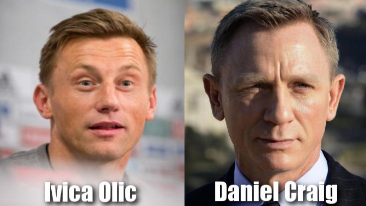 Der HSV-Stürmer Ivica Olic könnte bei so manch sportlicher Herausforderung James-Bond-Darsteller Daniel Craig unter die Arme greifen.