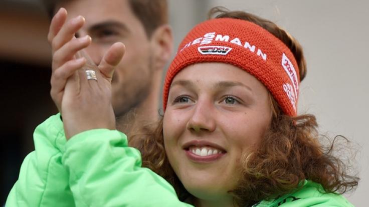 Auch Laura Dahlmeier ist bei der Deutschen Meisterschaft im Bayerischen Wald dabei.