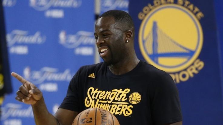 Neuer Job für den US-Basketball Draymond Green? Ein Porno-Produzent hat ihm ein verlockendes Angebot gemacht. (Foto)