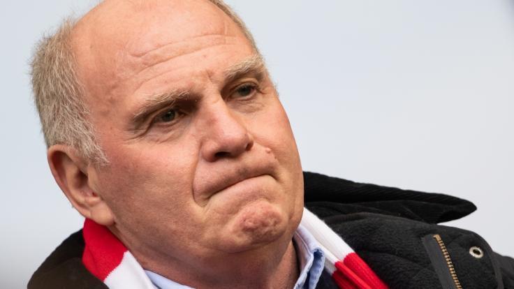 Beendet Uli Hoeneß seine Karriere beim FC Bayern München? (Foto)