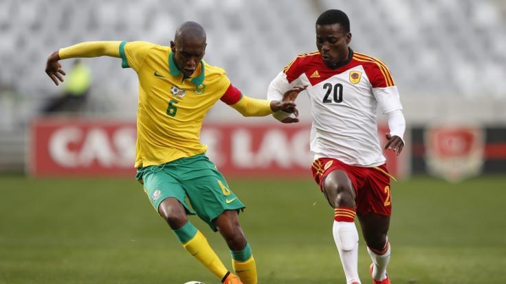 Die Aufnahme zeigtAnele Ngcongca (links) im Jahr 2015. (Foto)