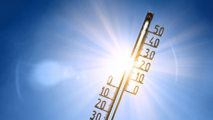 Am Wochenende wird es noch einmal richtig heiß in Deutschland. (Foto)