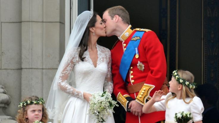 Auf diesen Moment musste Kate Middleton lange warten. (Foto)