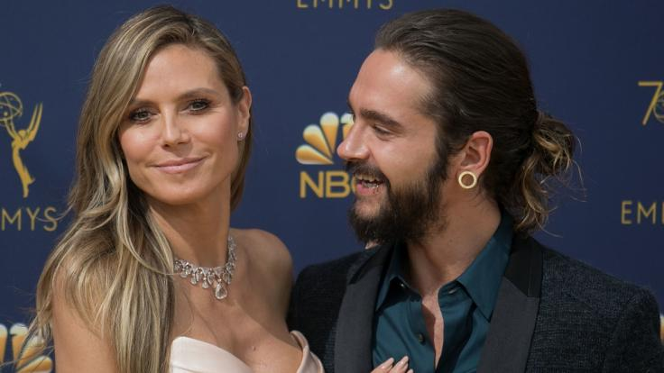 Heidi Klum ist bei ihrem Tom auch für den Bart zuständig.
