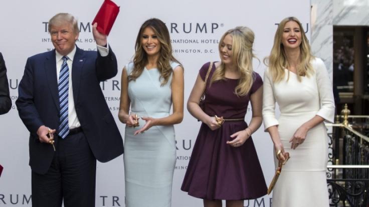 Mehrere Damen aus der Familie Trump sollen Affären mit ihren Bodyguards gehabt haben. (Foto)