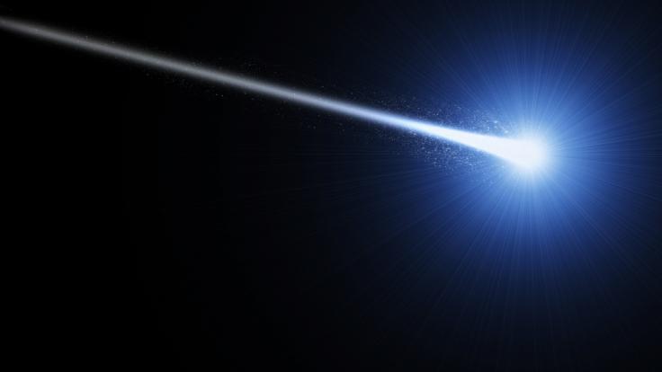 Am Donnerstagabend raste ein Feuerball über den Himmel in Süddeutschland. (Foto)