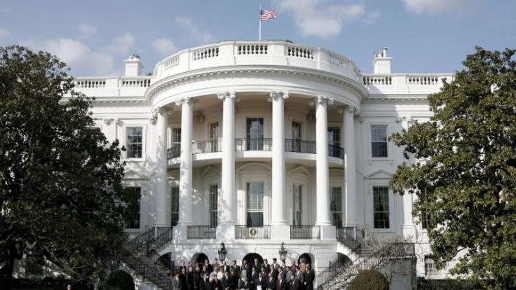 43 Präsidenten residierten bisher im Weißen Haus. (Foto)