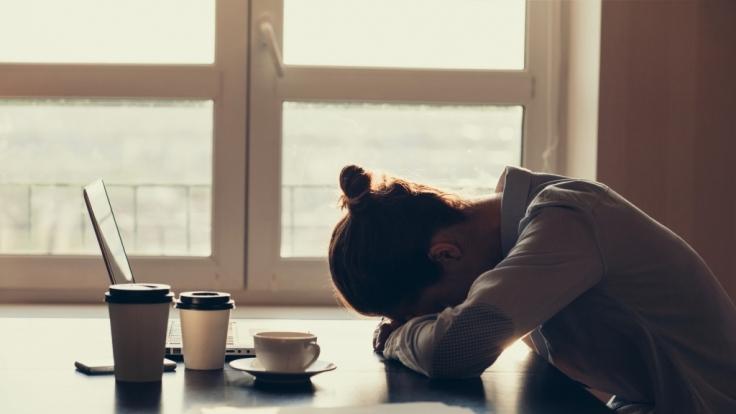 Ständige Müdigkeit ist das wichtigste Warnsignal für ein chronisches Erschöpfungssyndrom. (Foto)