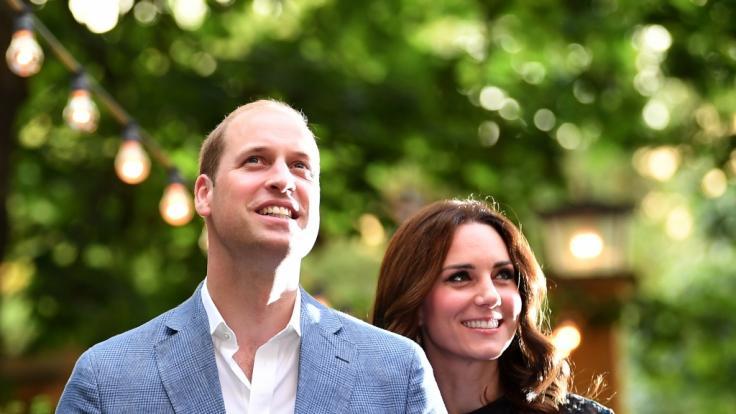 Prinz William und Herzogin Kate bei einem Besuch in Berlin.