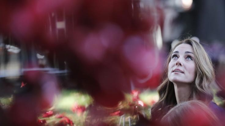Kate Middleton erfuhr bei einem Besuch des Kriegsmuseums in London Erschreckendes über ihre Vorfahren. (Foto)