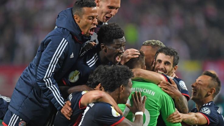 Für den FC Bayern war es nicht irgendein Sieg in der zweiten Runde des DFB-Pokals. (Foto)