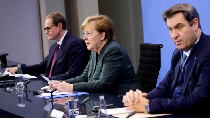 Der Corona-Gipfel am Montag droht lang zu werden: Allein beim Thema Oster-Öffnungen liegen die Meinungen der Ministerpräsident:innen weit auseinander. (Foto)
