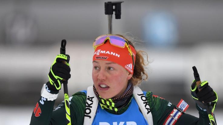 Laura Dahlmeier will in Oberhof noch einmal überzeugen. (Foto)