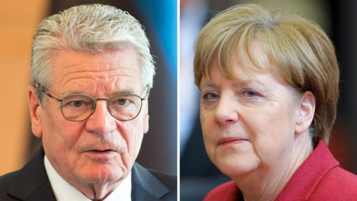 Reichsbürger haben Joachim Gauck und Angela Merkel ins UCC-Schuldenregister eintragen lassen.