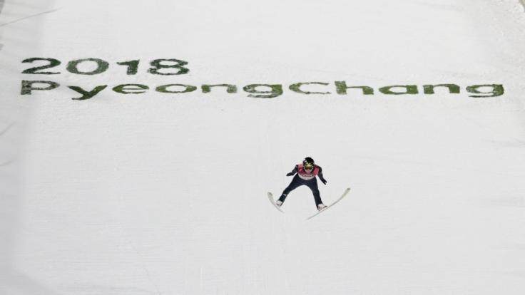 Richard Freitag möchte nach einer olympischen Medaille greifen. (Foto)
