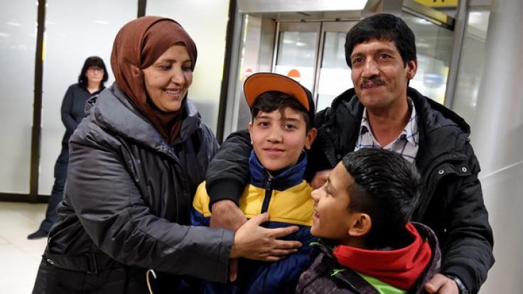 2018 dürfen wohl 390.000 Syrer ihre Familien nachholen. (Foto)