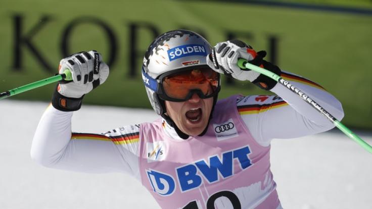 Thomas Dreßen ist der deutsche Hoffnungsträger im Ski alpin. (Foto)