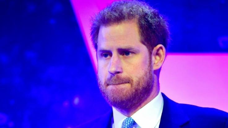 Prinz Harry musste bei der Verleihung der