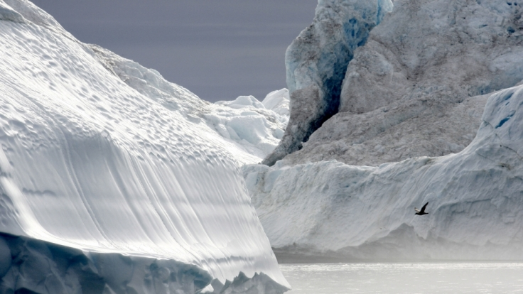Bei anhaltender Klima-Erwärmung droht Gefahr unbekannter Viren aus dem Permafrostboden. (Foto)