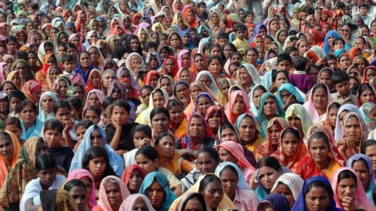 Die Weltbevölkerung steigt weiter an. (Foto)