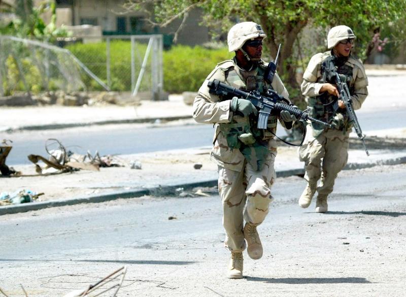 Ранены в результате специальной операции, проводимой в центре Багдада ир