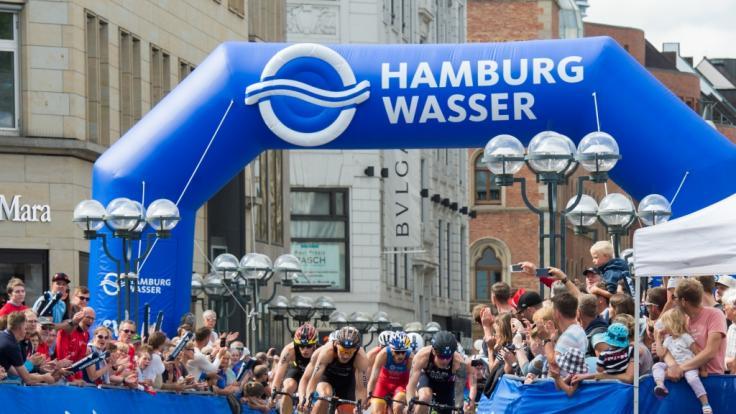 So sehen Sie den Hamburg Triathlon am Wochenende live im TV und Stream.