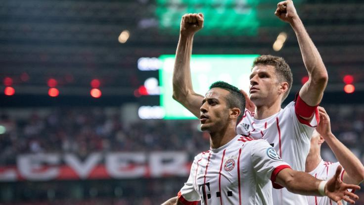 Der FC Bayern München konnte über den Einzug ins DFB-Pokal-Halbfinale jubeln. (Foto)