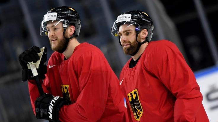 Schafft das deutsche Eishockey-Team den Sprung ins Viertelfinale?