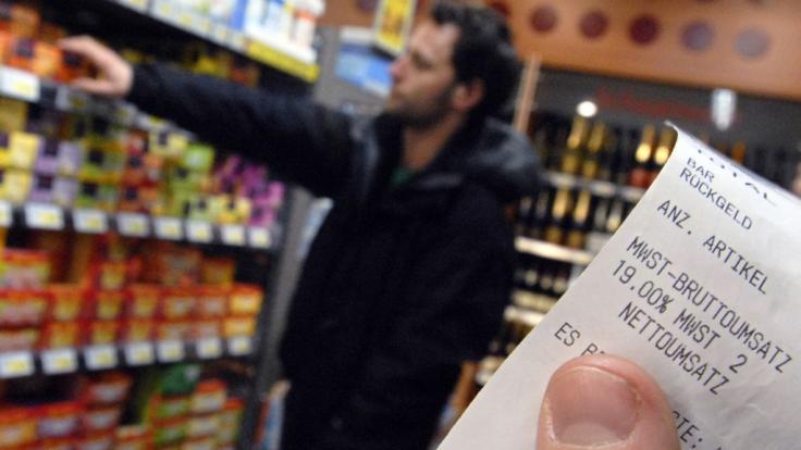 Aldi Süd hält für seine Kunden im April eine eigene Lotterie bereit. Bei der wird der Kassenzettel zum Glückslos. (Symbolbild) (Foto)