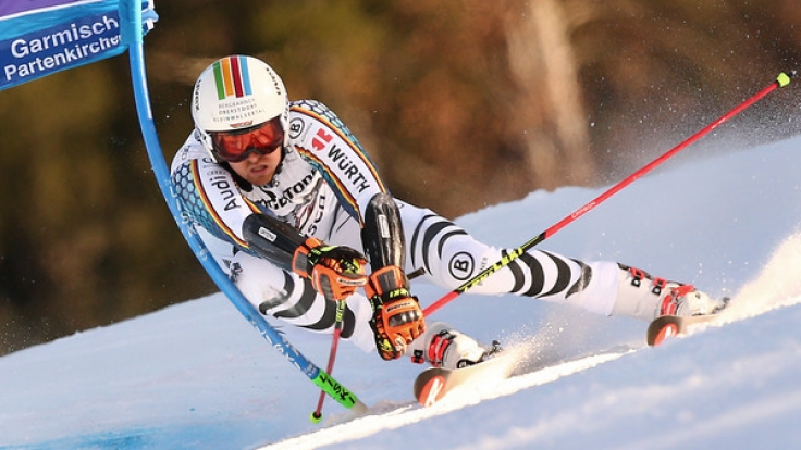 Stefan Luitz will heute im Riesenslalom der Ski-WM 2017 in St. Moritz attackieren und aufs Podium fahren.