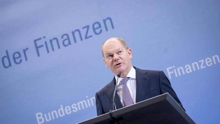 Olaf Scholz hat als Bundesfinanzminister nicht viel zu lachen.