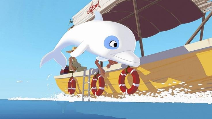 Zoom - Der weiße Delfin bei KiKA (Foto)