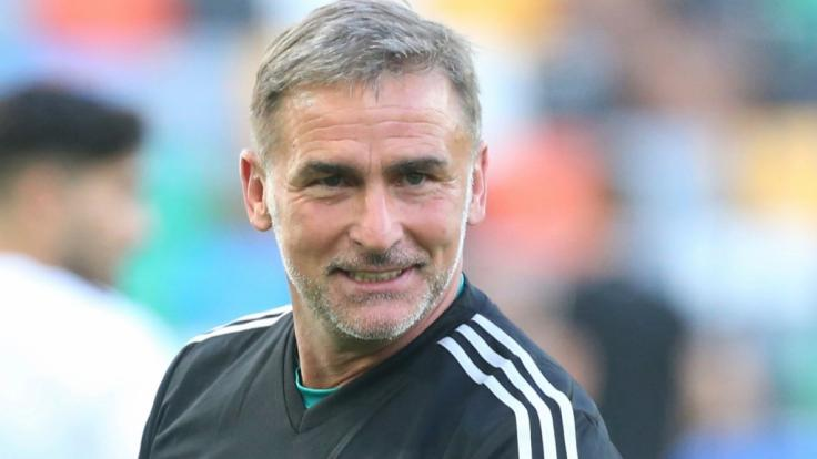 U21-Bundestrainer Stefan Kuntz steht mit der Nationalmannschaft bei der Europameisterschaft in Italien und San Marino auf dem Platz.