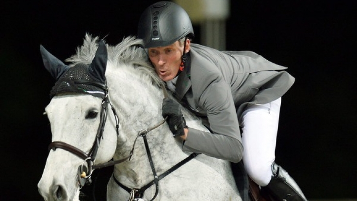 Ludger Beerbaum bei der Longines Global Champions Tour in Doha.
