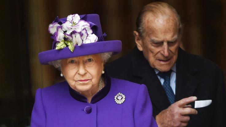 Queen Elizabeth II. und ihr Ehemann Prinz Philip sind seit 70 Jahren verheiratet.