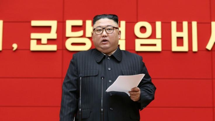 Kim Jong-un will die Gunst seines Volks mit musikalischer Propaganda zurückerobern. (Foto)