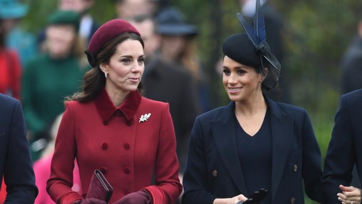 Auf ihre Schwägerin Kate Middleton ist Meghan Markle nicht allzu gut zu sprechen.