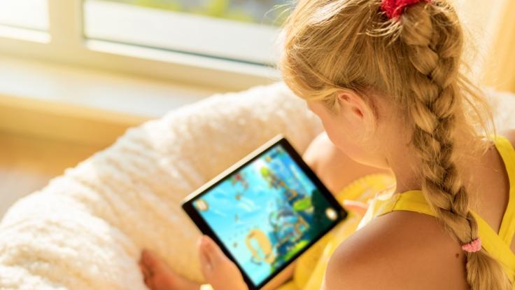 """Viele Spiele-Apps für Kinder sind """"inakzeptabel"""" laut einem Test Stiftung Warentest. (Symbolbild) (Foto)"""