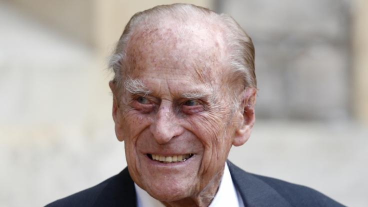 Nach seiner Herzoperation in einer Spezialklinik wurde Prinz Philip zurück ins Krankenhaus verlegt. (Foto)