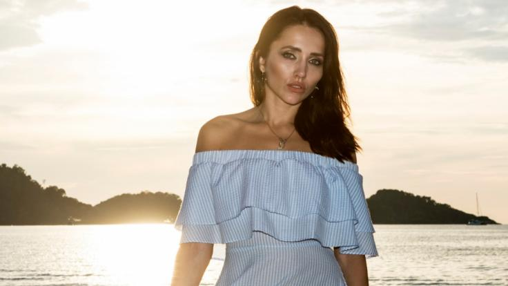 "Anastasiya Avilova als Versuchung auf ""Temptation Island"". (Foto)"