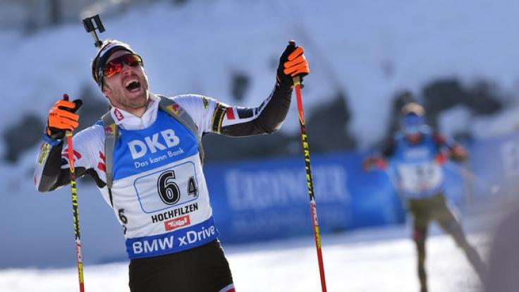 Simon Schempp holte WM-Gold beim Massenstart.