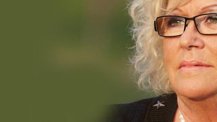 Renate Höhne ahnte nichts von dem bizarren Doppelleben ihres Mannes. (Foto)
