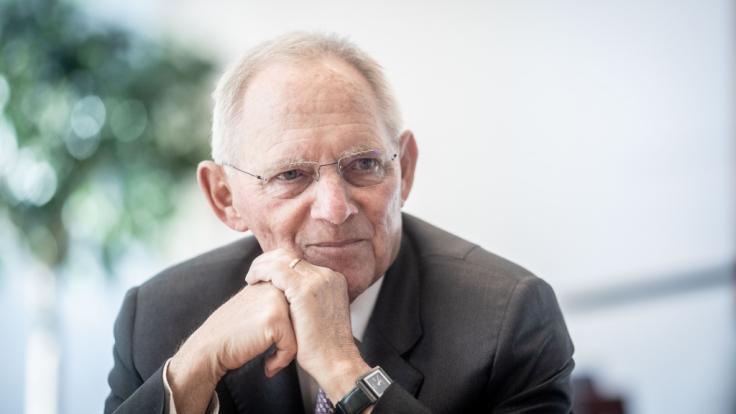 Bundestagspräsident Wolfgang Schäuble (CDU) hat die Position der AfD zurückgewiesen, sie habe einen Anspruch auf einen Vizepräsidentenposten im Parlament. (Foto)