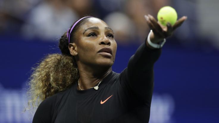 Serena Williams steht im Finale der US Open 2019.