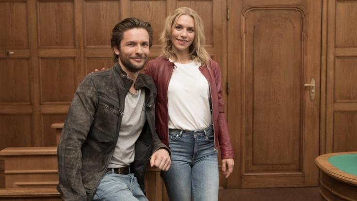 Bert Tischendorf und Julia Dietze stehen für die neue RTL-Serie