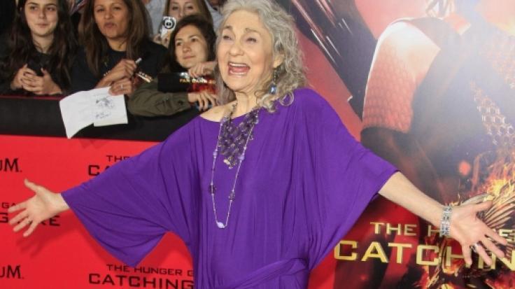 """Schauspielerin Lynn Cohen im November 2013 bei der US-Premiere von """"Die Tribute von Panem"""". (Foto)"""