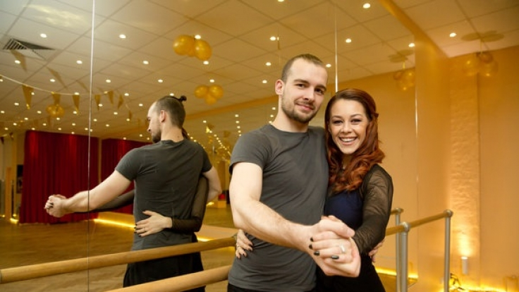 "Oana Nechiti tanzte bei ""Let's Dance"" unter anderem mit GZSZ-Star Eric Stehfest. (Foto)"