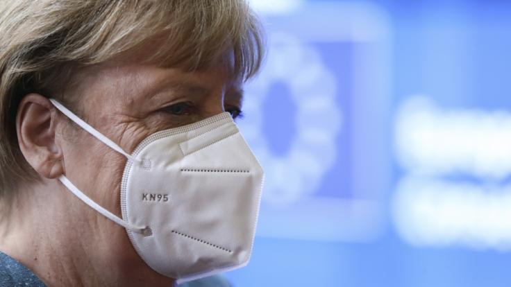 Angela Merkel fühlte sich während des Lockdowns an die DDR erinnert. (Foto)