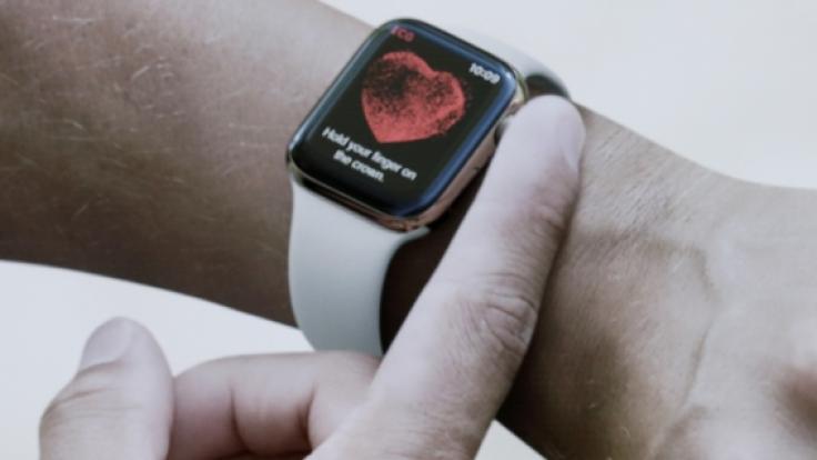 Die Apple Watch kann genutzt werden, um eine Corona-Infektion zu erkennen (Foto)